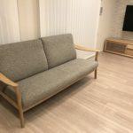 カリモクのソファーが主役の我が家のリビングが完成です