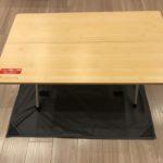スノーピークワンアクションテーブルをジカロテーブルと組み合わせて使いたい!