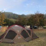 スノーピーク ドックドームを使った感想をレビューします@大子広域公園オートキャンプ場(11/3〜4)