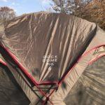 冬キャンプの結露対策  スノーピークドックドームにシールドルーフを付けてみての効果をレビューします