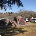 初心者キャンパーにオススメの成田ゆめ牧場ファミリーオートキャンプ場のキャンプレポートです(2019.2.2-3)