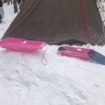 雪中キャンプ@軽井沢スウィートグラス 子供と楽しむ雪遊び