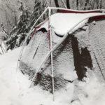 予期せぬ雪中キャンプとなった2回目のメープル那須高原キャンプグランド最終日(2020.3.26〜29)
