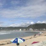 夏休みに家族で楽しむ海水浴場、千葉県勝浦市守谷海岸へ行ってきました。