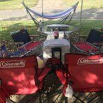 キャンプリビングの椅子は、ハイチェアか?流行りのローチェアか?