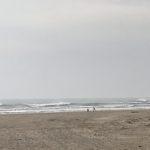 すっかり春めいてきた片貝新堤でのサーフィン(2019.2.24)