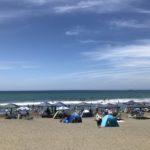 千葉県内房で人気の海水浴場 岩井海岸へ行ってきました(2019.8.10)