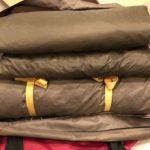 スノーピーク テント乾燥サービスを利用してみました